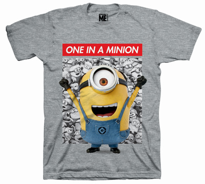 Juvenile: Despicable Me - One in a Minion T-shirts
