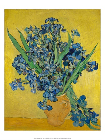 Irises, 1888 Posters by Vincent Gogh
