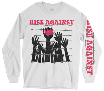 Long Sleeve: Rise Against - Prisoners Long Sleeves