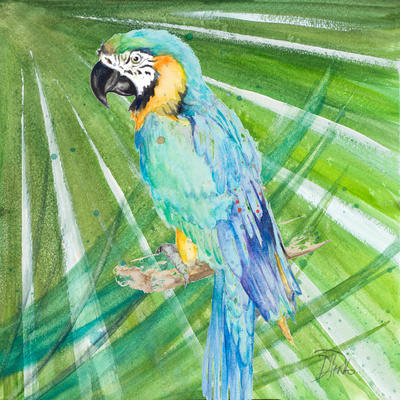 Colorful Parrot Prints by Patricia Pinto