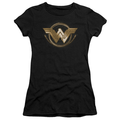 Juniors: Wonder Woman Movie - Lasso Logo T-Shirt