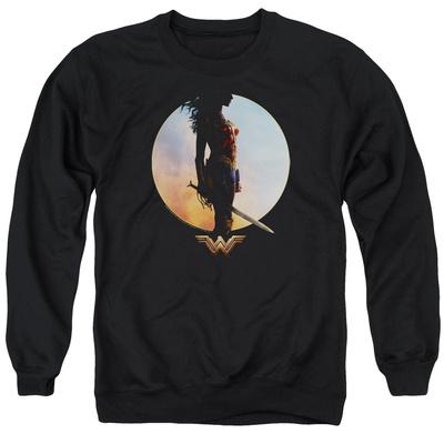 Crewneck Sweatshirt: Wonder Woman Movie - Wisdom and Wonder T-shirts