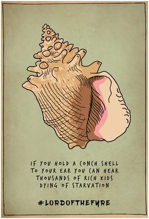 Conch Shell Voices Prints