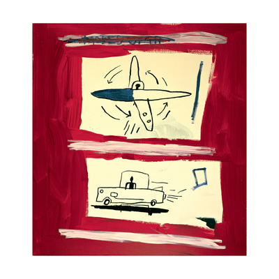 Untitled, 1985 Giclee Print by Jean-Michel Basquiat