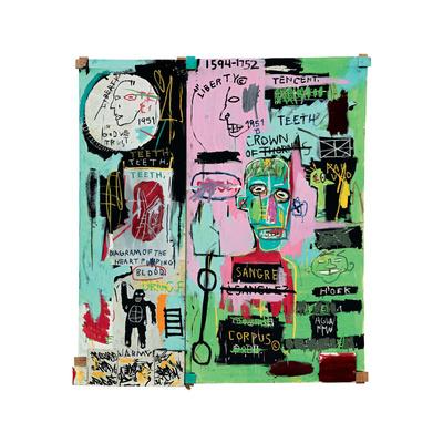 In Italian, 1983 Giclee Print by Jean-Michel Basquiat