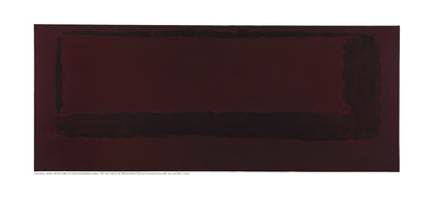 Mural, Section 5 {Red on Maroon} [Seagram Mural] Giclee Print by Mark Rothko