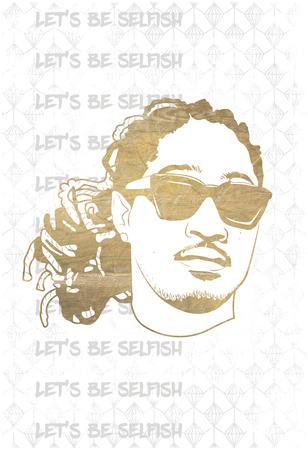 Be Selfish Print