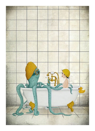 Bath Time Prints
