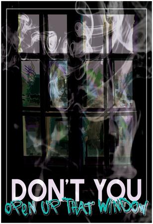 Don't You Open Affischer