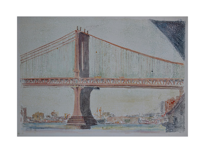 Manhattan Bridge, 1999 Giclee Print by Anthony Butera