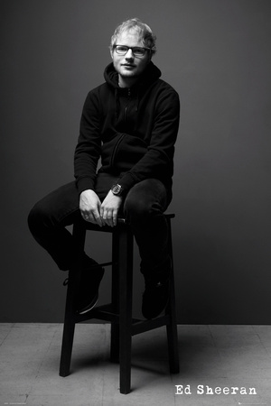 Ed Sheeran Black & White Prints
