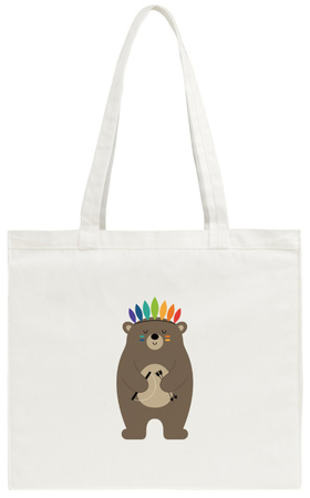 Be Brave Tote Bag Tote Bag by Andy Westface