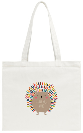 Give Me a Hug Tote Bag Tote Bag by Andy Westface