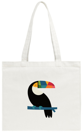 Rainbow Toucan Tote Bag Tote Bag by Andy Westface