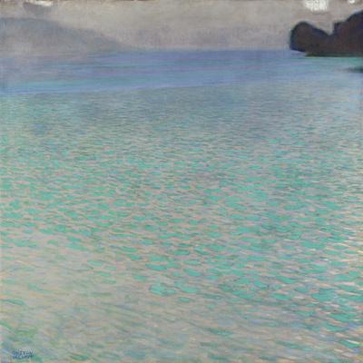 On Lake Attersee, 1900 Giclee Print by Gustav Klimt