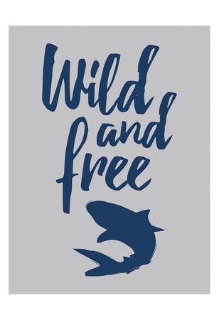 Wild Shark Art by Jace Grey