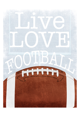 Football Love Prints by Marcus Prime