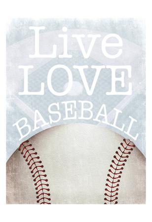 Baseball Love Posters by Marcus Prime