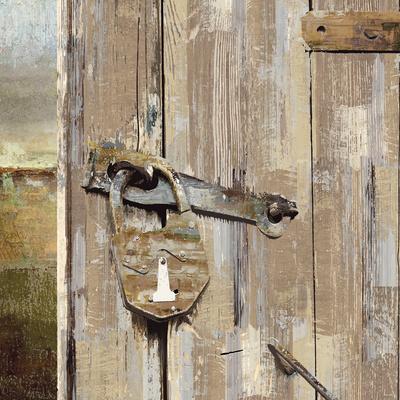 Long Barn - Barn Door Art by Mark Chandon