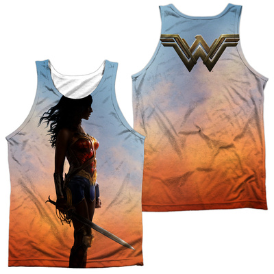Wonder Woman Movie - Poster (Front/Back) Tank Top
