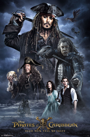 Pirates of the Caribbean 5 - Collage Photo