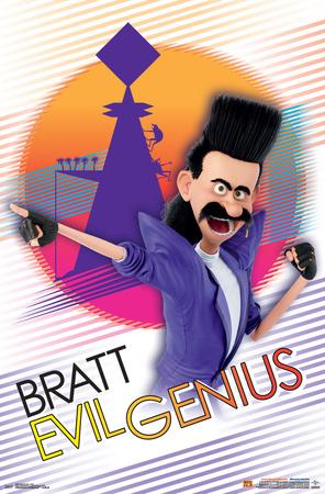 Despicable Me 3 - Bratt Print