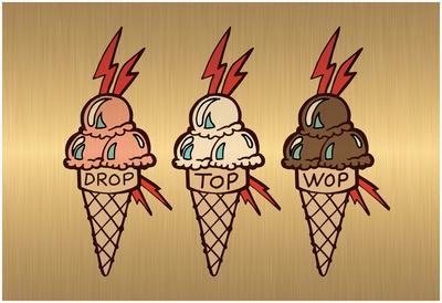 Drop Top Wop Poster
