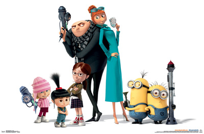 Despicable Me 3 - Group Posters