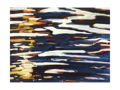 Fading Light Recolor Giclee Print by Mercedes Marin