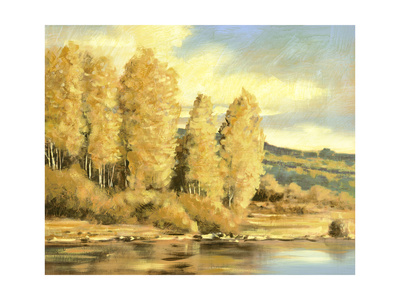 Leaves Turning 1 Giclee Print by Ben Gordon
