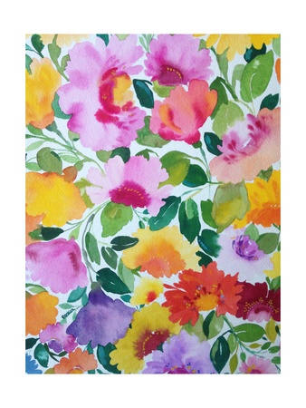 Spring Bouquet Giclee Print by Kim Parker