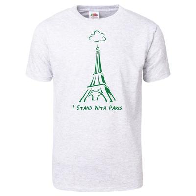 I Stand With Paris T-Shirt Shirts