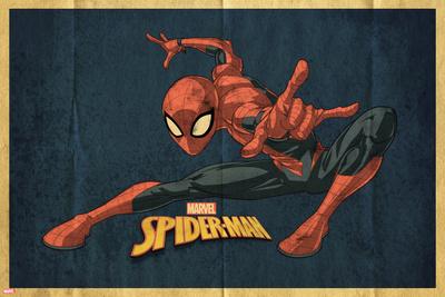 Vintage Spider-Man (Exclusive) Prints
