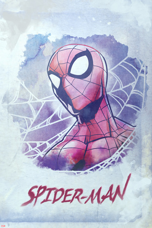 Spider-Man Watercolor 2 (Exclusive) Posters