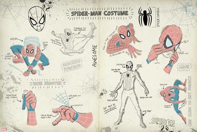 Spider-Man Sketchbook 2 (Exclusive) Poster