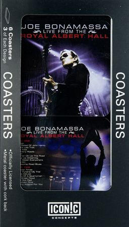 Joe Bonamassa - Live at Royal Albert Hall 6 Pc. Coaster Set Coaster