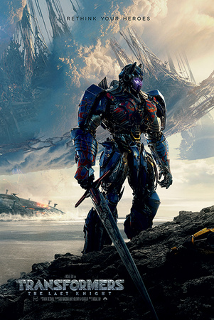 Transformers - The Last Knight (Rethink Your Heroes) Posters