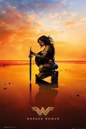 Wonder Woman - Kneel Plakater