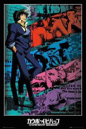 Cowboy Bebop - Spike Affischer