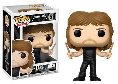Metallica - Lars Ulrich POP Figure Toy