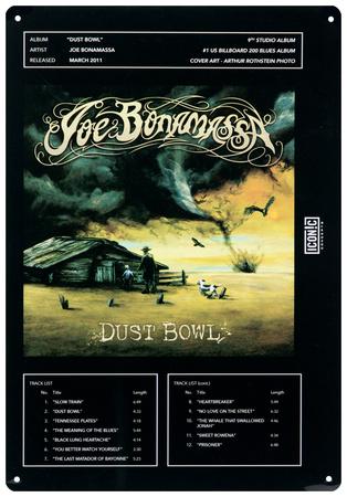 Joe Bonamassa - Dust Bowl Tin Sign