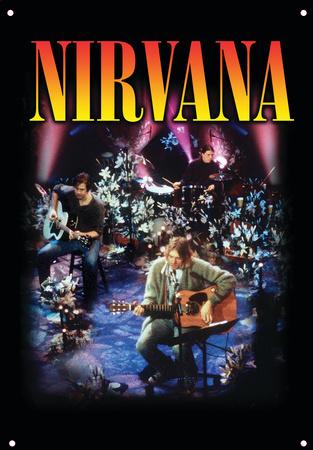 Nirvana - MTV Live Tin Sign