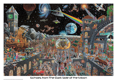 Echoes From The Darkside Of The Moon - Tom Masse Poster