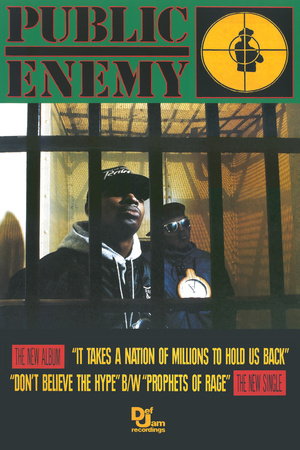 Public Enemy - It Takes A Nation Of Millions Affischer