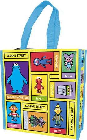 Sesame Street - Small Insulated Shopper Tote Indkøbstaske