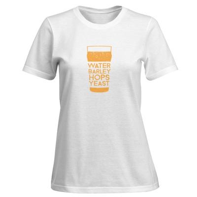 Womens: Recipe For A Hoppy Pint T-Shirt Shirt