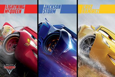 Cars 3 - Split Posters