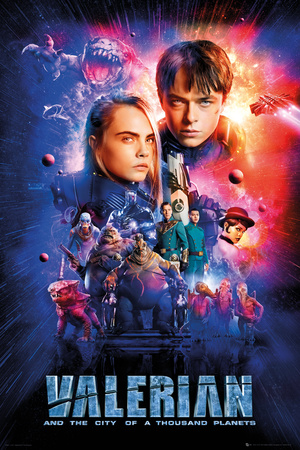 Valerian - One Sheet Cast Posters