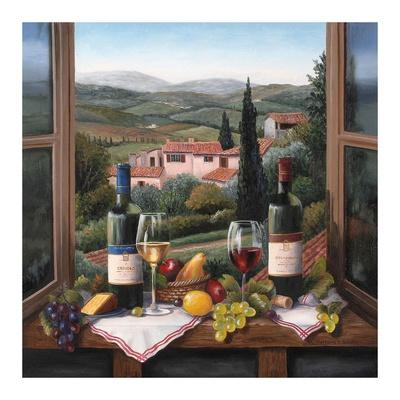 Wine on the Window Posters by Barbara Felisky