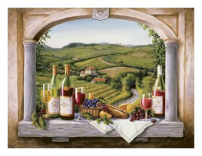 Vineyard Reverie Posters by Barbara Felisky